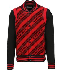givenchy jacquard givenchy chain bomber