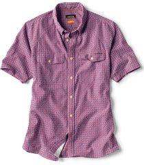 clearwater seersucker short-sleeved shirt