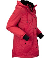 parka outdoor con ecopelliccia (rosso) - bpc bonprix collection
