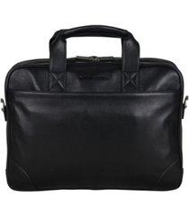 """ben sherman karino leather 15"""" computer case bag"""