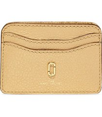 marc jacobs the softshot pearlized card case - yellow