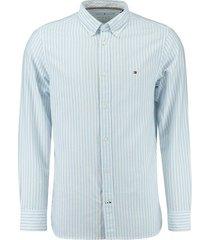 overhemd oxford blauw