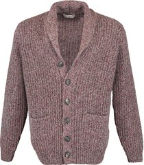 shawl collar grandfather cardigan