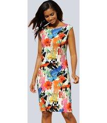 jurk alba moda multicolor