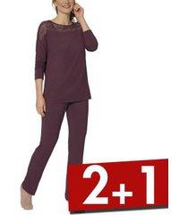 triumph lounge-me amourette pyjamas * gratis verzending *