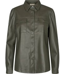 blouse harley donkergroen