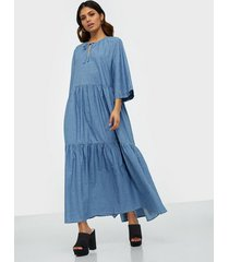 selected femme slfjoy 3/4 ankle dress w loose fit dresses