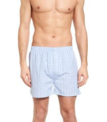 men's majestic international boxer shorts, size 40 - blue