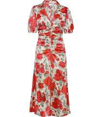 dress maxiklänning festklänning rosa ganni