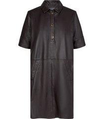ester dress molé brown