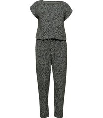 recina crepe jungle cavi jumpsuit multi/mönstrad mads nørgaard