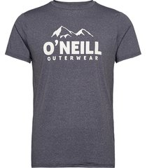 lm hybrid t-shirt t-shirts short-sleeved blå o'neill