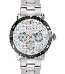 men's ted baker london margarit multifunction bracelet watch, 46mm