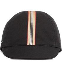 burberry black cotton cap
