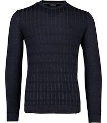 donkerblauwe trui cavallaro testo