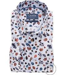 overhemd ledub modern fit blad dessin