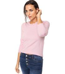 sweater rosa nano gabrielle