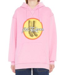 j.w. anderson cola boots hoodie