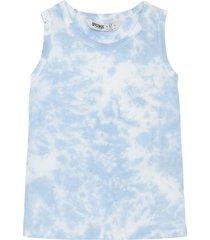 camiseta manga sisa azul  offcorss
