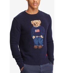 polo ralph lauren men's iconic polo bear wool sweater