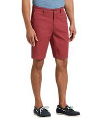 joseph abboud burnt russet modern fit shorts