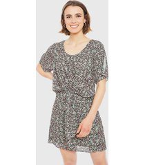 vestido ash verde - calce regular