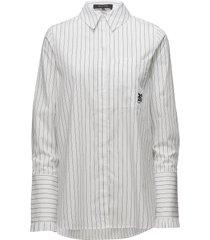 yates shirt overhemd met lange mouwen wit raiine