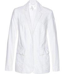 blazer in misto lino (bianco) - bpc selection