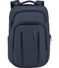 men's thule crossover 2 20-liter laptop backpack with rfid pocket - blue