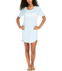 jenni printed knit sleep shirt nightgown, created for macy's