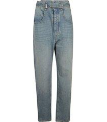 isabel marant belted detail jeans