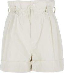 moncler high buttoned waist shorts