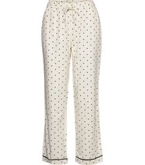 dotted rest pants lingerie trousers pyjamas crème moshi moshi mind
