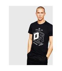 camiseta diesel t-diego-a3 masculina