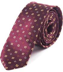 corbata frank pierce merlot  t1807 - vinotinto