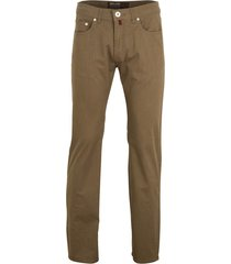 pierre cardin 5-pocket broek lyon beige