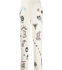 barrie boyfriend symbols trousers - neutrals