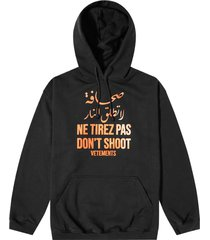 dont shoot hoodie