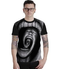 camiseta lucinoze camisetas manga curta infinity one preta