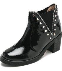 botín moda dama tellenzi pb598 negro