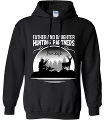 father and daughter hunting partners for life  t-shirt hoodie