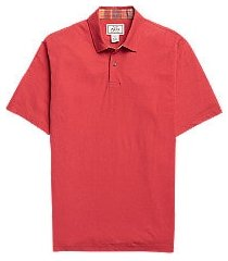 1905 collection tailored fit men's polo shirt clearance