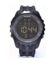 relógio potenzia digital running à prova dágua original