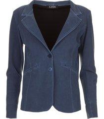 travelwear blazer tokio  blauw
