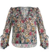 abra floral blouse