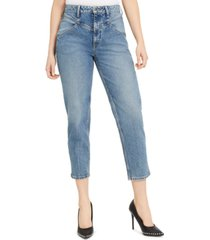 guess super-high rise '80s mom jeans