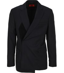 424 velcro fastening blazer