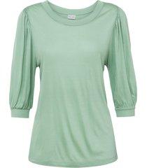 maglia con maniche a palloncino (verde) - bodyflirt