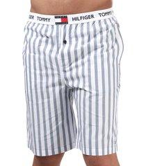 mens woven stripe shorts