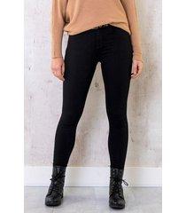 skinny jeans high waist zwart